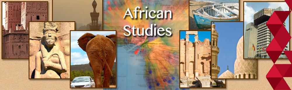 Slide 2 - African Studies welcome banner